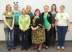 Happy St. Patrick's Day from the Bellevue University Library Staff