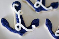 Cute anchor cookies!