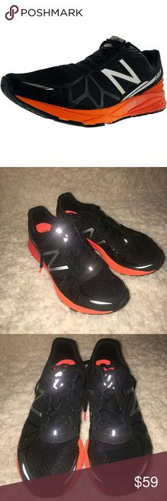 New Balance Sneakers 9.5 MpaceyR Running Shoes New Balance Sneakers Men's Size 9.5 MpaceyR Running Ankle High Black Orange --- Excellent used condition.   MA New Balance Shoes Sneakers