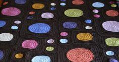 Yarn Inspirations: Retro circles crochet cot blanket