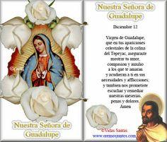oracion A Virgen de Guadalupe | ORACIONES A LA VIRGEN DE GUADALUPE