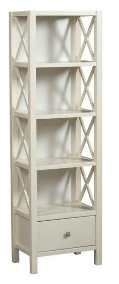 Narrow bookshelf idea