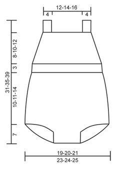 """Petit Lutin - El conjunto se compone de Mono corto de punto DROPS, calcetines y gorro en """"Cotton Merino"""". Talla 1-18 meses - Free pattern by DROPS Design"""