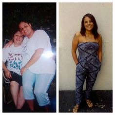 """Transformation Tuesday....Jules you look fantabulous!!!! Get it girl!! :D  """"When I look at the photo on the left, I see someone who did not enjoy life. I am not """"her"""" any longer nor will I ever go back to being her. I feel free and healthy and strong!! Never in a trillion years did I even THINK I would be able to wear a halter anything, but here I am doin it...lol. Saba 60 gives real results. Now I'm on to SABA365"""""""