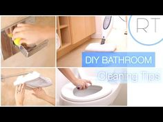 DIY Natural Bathroom Cleaning Tips