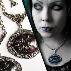 Avada Kedavra! Glass Necklace | Lumissa's Purple Octopus | I Am Attitude