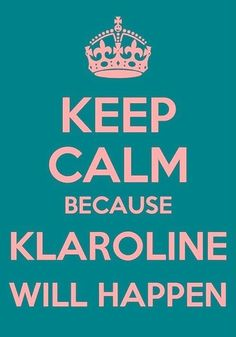 Caroline & Klaus The Vampire Diaries! Just a small part of me wants this!!! @Candace
