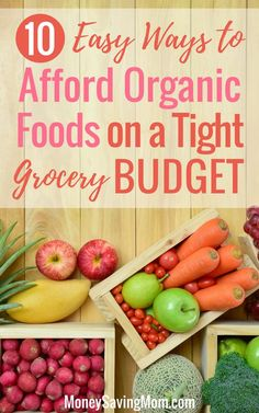 Want to eat healthy, organic foods on a budget? Read this post for 10 great tips! Lowest Carb Bread Recipe, Low Carb Bread, Edamame, Paleo Recipes, Low Carb Recipes, Paleo Meals, Fast Recipes, Recipes Dinner, Healthy Meals