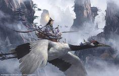 sword immortal, yintion J on ArtStation at https://www.artstation.com/artwork/2OOwK?utm_campaign=notify&utm_medium=email&utm_source=notifications_mailer