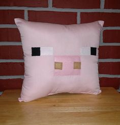 Check out this item in my Etsy shop https://www.etsy.com/listing/274562028/pink-pig-inspired-by-minecraft-square