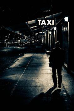 Chelsea Piers Taxi Stand, Manhattan. Ric Camacho.