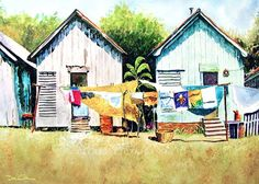 """Louisiana Wash Day"" #DonShan"