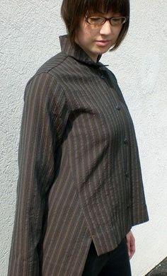 Sewing Workshop Liberty shirt pattern