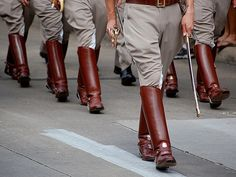 Corp of Cadets senior boots