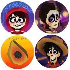 Printable Disney Coco Cupcake Toppers Digital Download