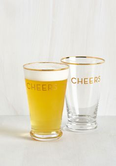 I Clink, Therefore I Am Glass Set