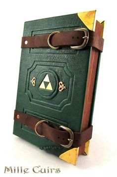 Hylian travelers journal by MilleCuirs equipment gear magic item Create your own roleplaying game material w RPG Bard Writing inspiration for Dungeons and Dragons DND D. Nintendo, Games Memes, Grandeur Nature, Geek Stuff, Link Zelda, The Legend Of Zelda, Midna, Shadowrun, Cthulhu