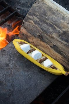 Recipe: Campfire Banana Boat S'mores — Recipes from The Kitchn