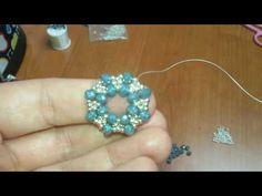 Beaded Bracelets Tutorial, Beaded Bracelet Patterns, Earring Tutorial, Beading Patterns, Beaded Earrings, Beaded Jewelry, Jewelry Making Tutorials, Beading Tutorials, Beaded Crafts