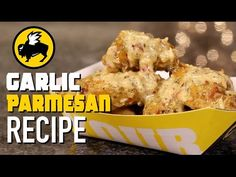 Buffalo Wild Wings Parmesan Garlic Copycat Recipe - YouTube