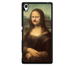 Ron Swanson Monalisa TATUM-9319 Sony Phonecase Cover For Xperia Z1, Xperia Z2, Xperia Z3, Xperia Z4, Xperia Z5