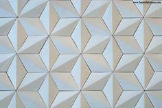 Japanese Ceramic Tiles, Tiles, Hishigata Pattern C