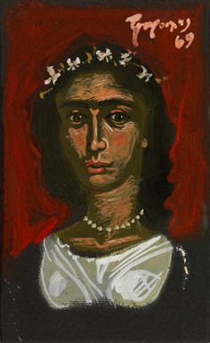 Painting by modern Greek artist Yannis Tsarouchis Greek Paintings, Modigliani, 10 Picture, Greek Art, Caravaggio, Michelangelo, Vincent Van Gogh, Greece, Contemporary Art
