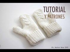 DIY Cómo hacer guantes para niños (patrones gratis) - YouTube