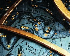 Detail of the celestial globe from The Ambassadors (1533), Hans Holbein the Younger