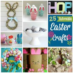 25 Adorable Easter Crafts