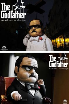 The Godfather 2.0 & Classic Ver. set by Michael Lau