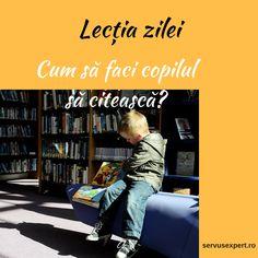 Copilul nu vrea să citească? Parenting, My Children, Montessori, Education, Cover, Books, My Boys, Libros, Book