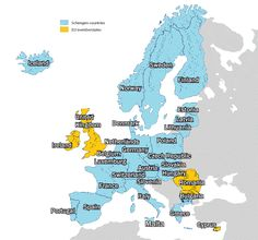 Absolute Guide On Schengen Area Countries With Map   Schen Travels