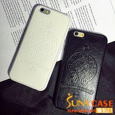 クロムハーツ iPhone7ケース ChromeHearts iPhone6sケース ジャケット レザー製 iPhone6plusケースカバー BIGBANG GD 愛用 男女兼用