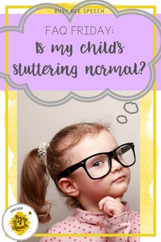 Questions about speech therapy? Help for parents on what to do when their child is stuttering.  Great article for SLPs to share with parents of children who stutter.