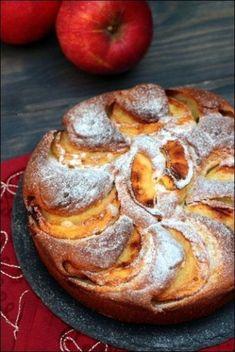 Dessert Recipes Easy Quick - New ideas Healthy Apple Cake, Vegan Apple Cake, Easy Apple Cake, Fresh Apple Cake, Apple Cake Recipes, Vegan Dessert Recipes, Vegan Cake, Easy Cake Recipes, Dessert Party