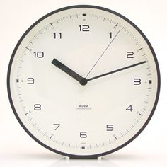 I don't know why I haven't been able to find a wall clock that I like. And I also don't know why I like a clock that looks like it has been hanging in an elementary school since 1960. But I do.