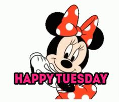 Mickey Mouse Quotes, Mickey Mouse Pictures, Mickey Mouse And Friends, Minnie Mouse, Good Morning Tuesday, Good Morning Good Night, Good Morning Wishes, Happy Tuesday, Bee Pictures