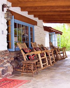 This is fabulous.....Mexico! Old Cabins, Small Cabins, Rustic Cabins, Southwestern Home, Southwest Decor, Southwest Style, Hacienda Homes, Hacienda Style, Portal