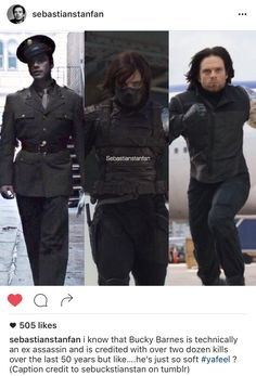 Haha Sebastianstanfan is the best