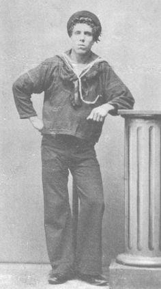 1870's norweigan sailor Hms Pinafore, Peter And The Starcatcher, Drama Theatre, British Hong Kong, Navy Uniforms, Navi, Ghost Ship, Us Sailing, Sweeney Todd
