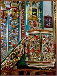 Santa Maria Tonantzintla  Arte Barroco Mexicano