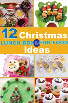 12 fun and creative christmas food hacks! Get inspiration and ideas from christmas lunch box to dinner for kids! Creative Christmas Food, Creative Food, Christmas Treats, Simple Christmas, Christmas Lunch Ideas, Xmas Food, Christmas Foods, Kids Christmas, Healthy Meals For Kids