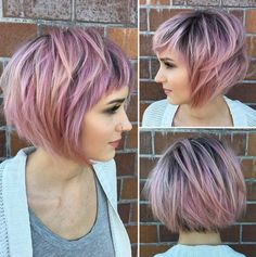 """Who says pastels can't look good with short hairstyles? We gathered the top pastel colors that will look stunning with short hair <a class=""""g1-link g1-link-more"""" href=""""http://stylemish.com/gorgeous-pastel-shades-for-short-hair/"""">More</a>"""
