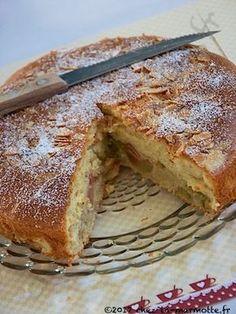 Gâteau nuage à la rhubarbe et à l'amande – Marmotte cuisine !