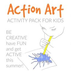 Fill your summer with bubble printing, paint dancing, splat art, and more! Download my new Action Art Activity Pack on artfulparent.com with the coupon code EARLYBIRD through midnight tonight (EST) to get $3 off, or visit the link in my bio.