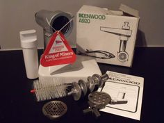 UNUSED VINTAGE KENWOOD A920 MINCER ATTACHMENT FOR A901 / A907 - BOXED | eBay