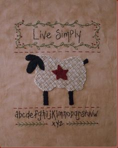 wooly lamb - love simply
