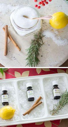 3 Ingredient Homemade Bath Salts   30 DIY Christmas Gifts in a Jar Ideas   DIY Mason Jar Christmas Gifts