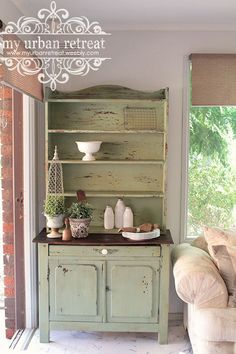 Gorgeous French farmhouse kitchen dresser